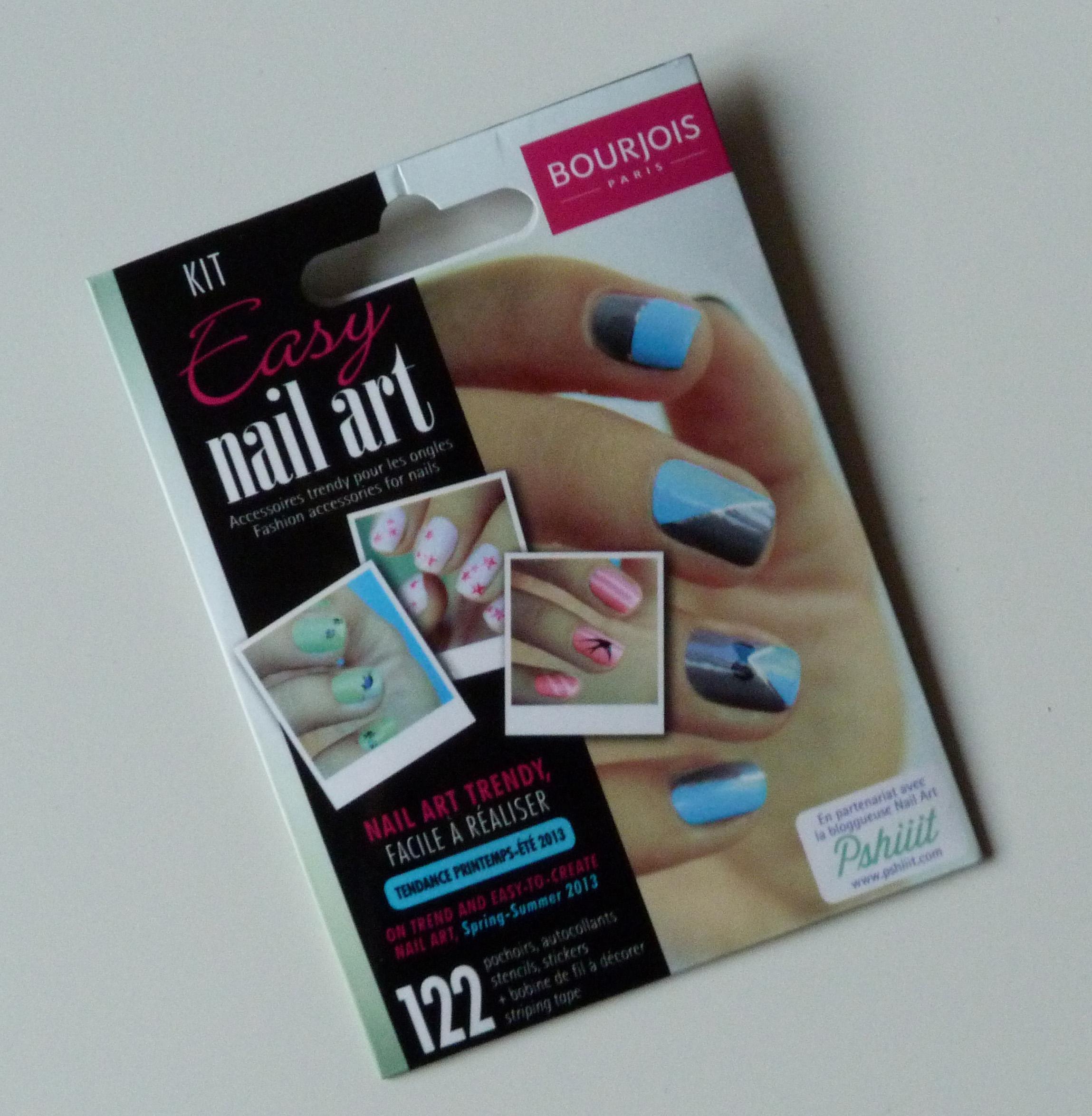 Le Kit Easy Nail Art De Bourgeois Feat Pshiiit
