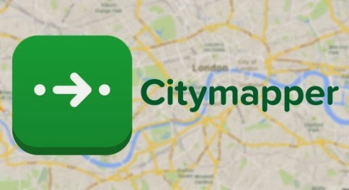 application iphone citymapper londond