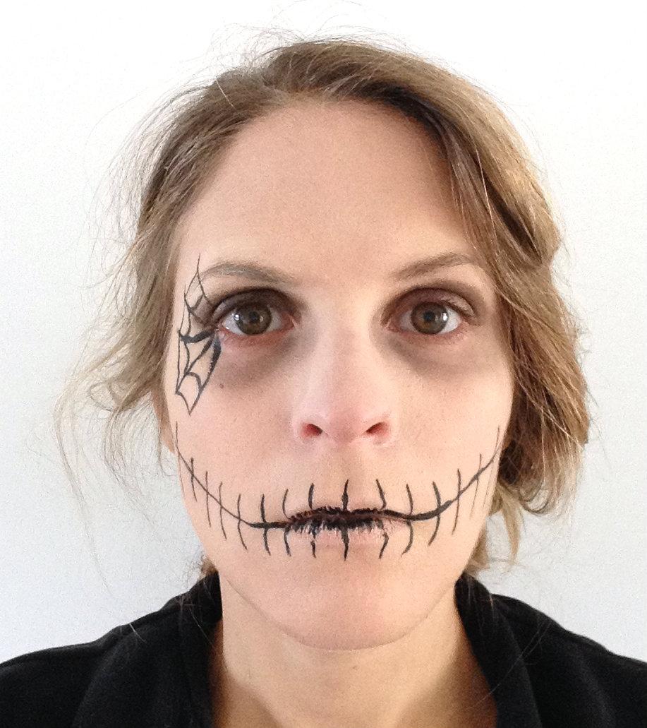 Make Up D Halloween Super Facile Prettylittletruth Blog De Fille Lifestyle Mode Beaut